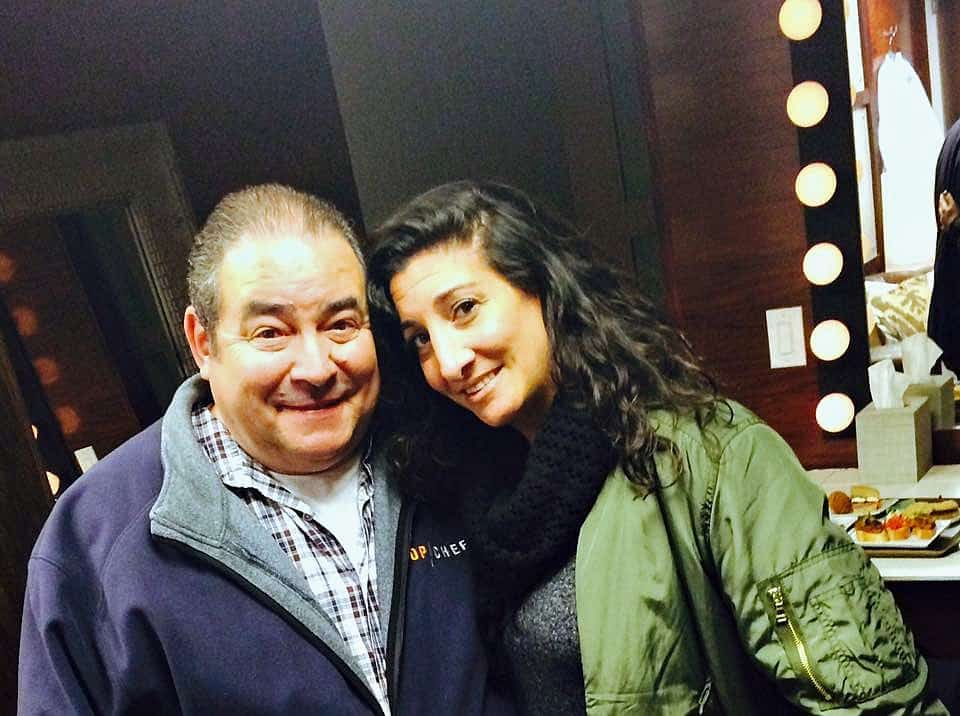 Swoon Talent Blog - Rachael Ray's Producer Joanna Sims with Emeril Lagasse
