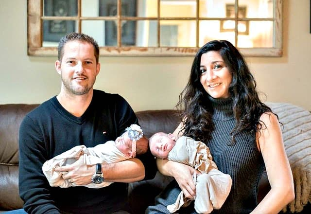 Swoon Talent Blog - Up Close & Personal with Rachael Ray Producer Joanna Sims Seen Here with Her Family
