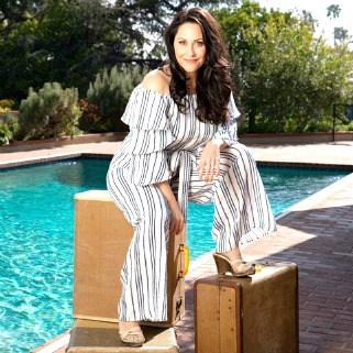 Swoon Talent - 'First For Women' Magazine shoot of travel expert Carolyn Scott-Hamilton. Photo by Jon McKee