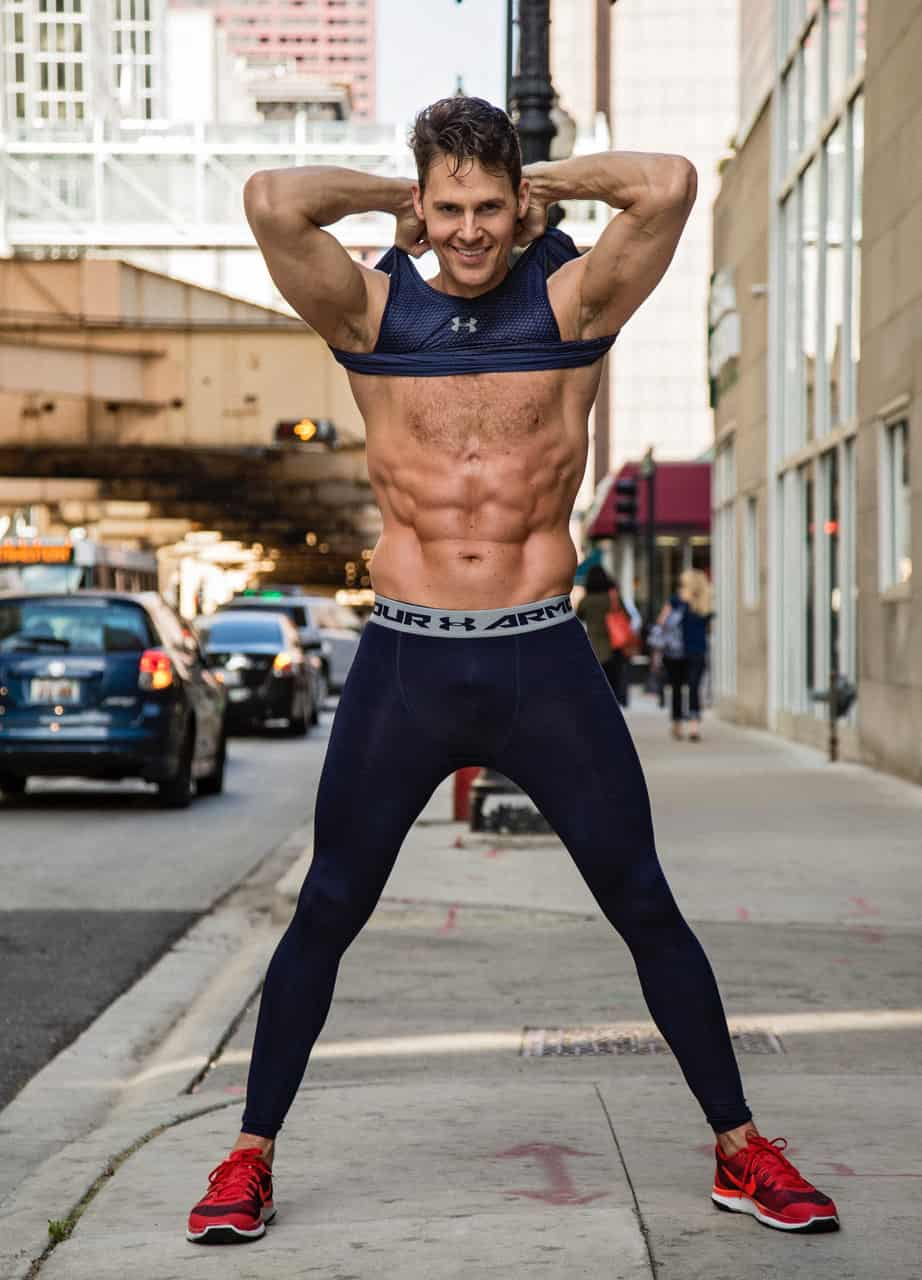 On-air fitness expert & host Joey Thurman - Swoon Talent