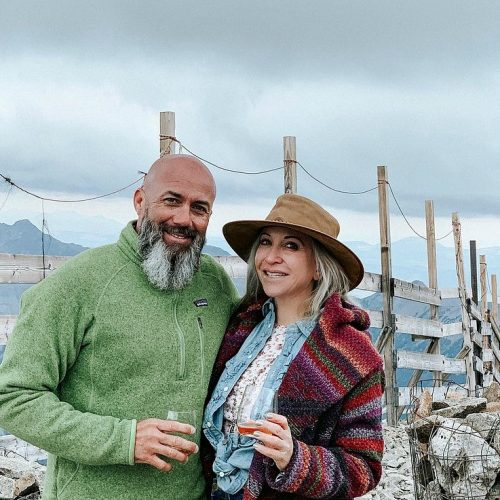 Food Blogger Marla Meridith travels the Rocky Mountains & National Parks with boyfriend Sean Wells in search of great food at truck stops - Mountain Man & The Diva
