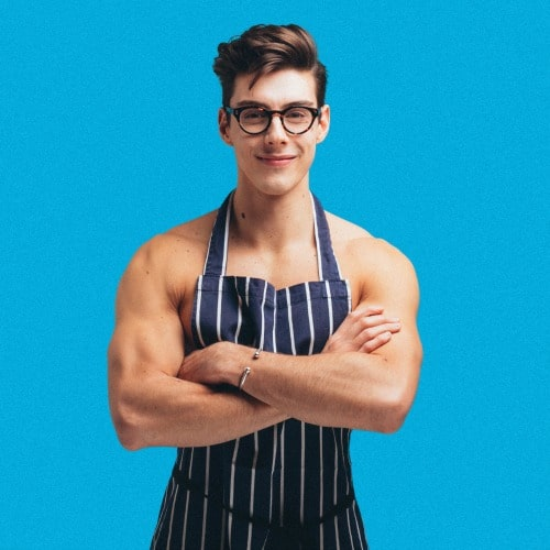 British YouTube star and influencer & baker Matt Adlard known as the Topless Baker - Swoon Talent